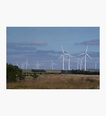 WIND POWER OF THE FUTURE Photographic Print
