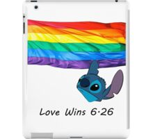 6.26 Love Wins iPad Case/Skin