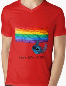 6.26 Love Wins Mens V-Neck T-Shirt