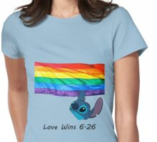 6.26 Love Wins Womens Fitted T-Shirt