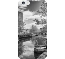 Castlefield Waterways of Manchester and Beetham Tower iPhone Case/Skin