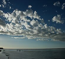 Bathe in the Silver Light - Kalbarri Rivermouth by Miriam Shilling