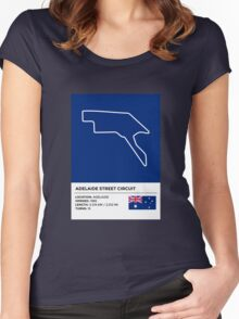 Adelaide Street Circuit Women's Fitted Scoop T-Shirt