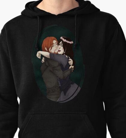TES: Brynjolf and his little Protege Pullover Hoodie