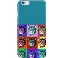 Cats Pop Art iPhone Case/Skin