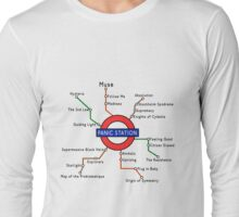 Panic Station Underground Map Long Sleeve T-Shirt