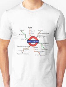 Panic Station Underground Map Unisex T-Shirt