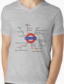 Panic Station Underground Map T-Shirt