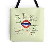 Panic Station Underground Map Tote Bag
