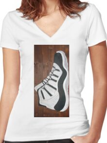 Jordan 11 Women's Fitted V-Neck T-Shirt