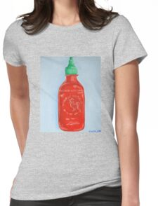 Siracha Womens Fitted T-Shirt