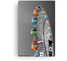 Coloured Ferris Wheel Canvas Print
