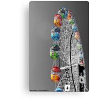 Coloured Ferris Wheel Canvas Print