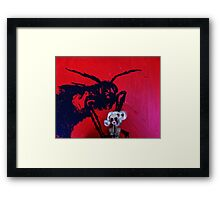 unrequited love Framed Print