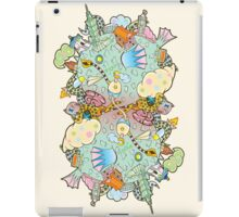 Puffer Puffing On A Water Pipe iPad Case/Skin