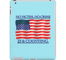 23 & Counting. iPad Case/Skin