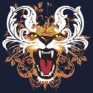 FLORAL LION by Saksham Amrendra