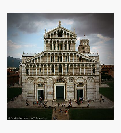 Faith by Numbers Photographic Print