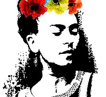 Frida Kahlo by cursis