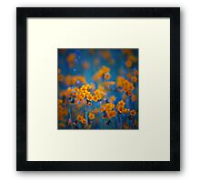 Flower dreams Framed Print