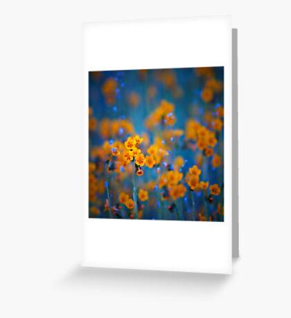 Flower dreams Greeting Card