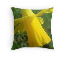 Dazzling Easter Daffy Throw Pillow