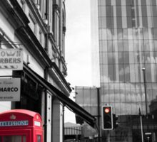 Red Telephone Box and Beetham Tower Sticker