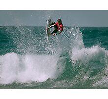 Aero Surfing Photographic Print