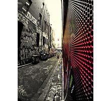 Hyper Color... Photographic Print