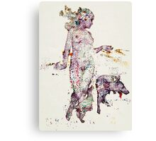 Eva pets Canvas Print