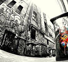 Laneway Bin.... by JAZ art