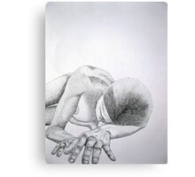 Sunburnt Heart Canvas Print