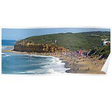 Bells Beach on Easter Sunday Poster