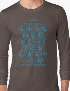 IngressBlueAchievements Long Sleeve T-Shirt