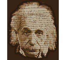 Einstein - General Theory of Relativity Photographic Print