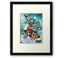 Lum - Great Pandamonium - Fantasy Strike Framed Print