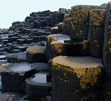Giants Causeway, Ireland by Puddlejumper9