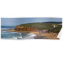 Bells Beach, Easter, 2010 Poster