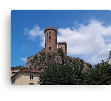 Chateau Foix Canvas Print