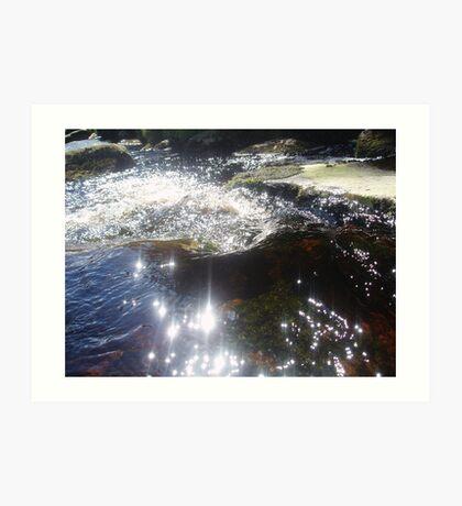 Wicklow Mountain Stream, Ireland Art Print