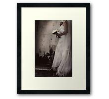 La mariée Framed Print