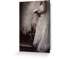 La mariée Greeting Card