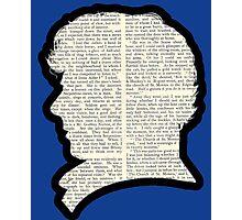 Sherlock Holmes - Benedict Cumberbatch silhouette Photographic Print