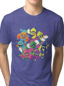 Splatoon - Inkling Squad Tri-blend T-Shirt