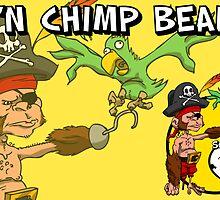 All Hail Cap'n Chimp Beard!! by Michael Lee