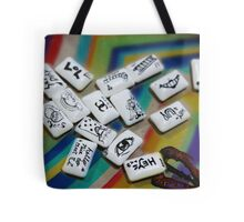 Chuddy Messages Tote Bag