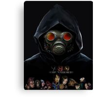 9 Hours 9 Persons 9 Doors Canvas Print