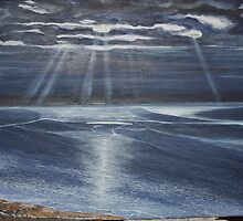 Dorset Moonbeams by Annie Lovelass