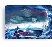 Storm on Azuremyst Canvas Print