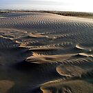 Waves of sand Midsland beach by patjila